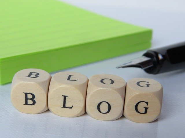 What is blog in Marathi