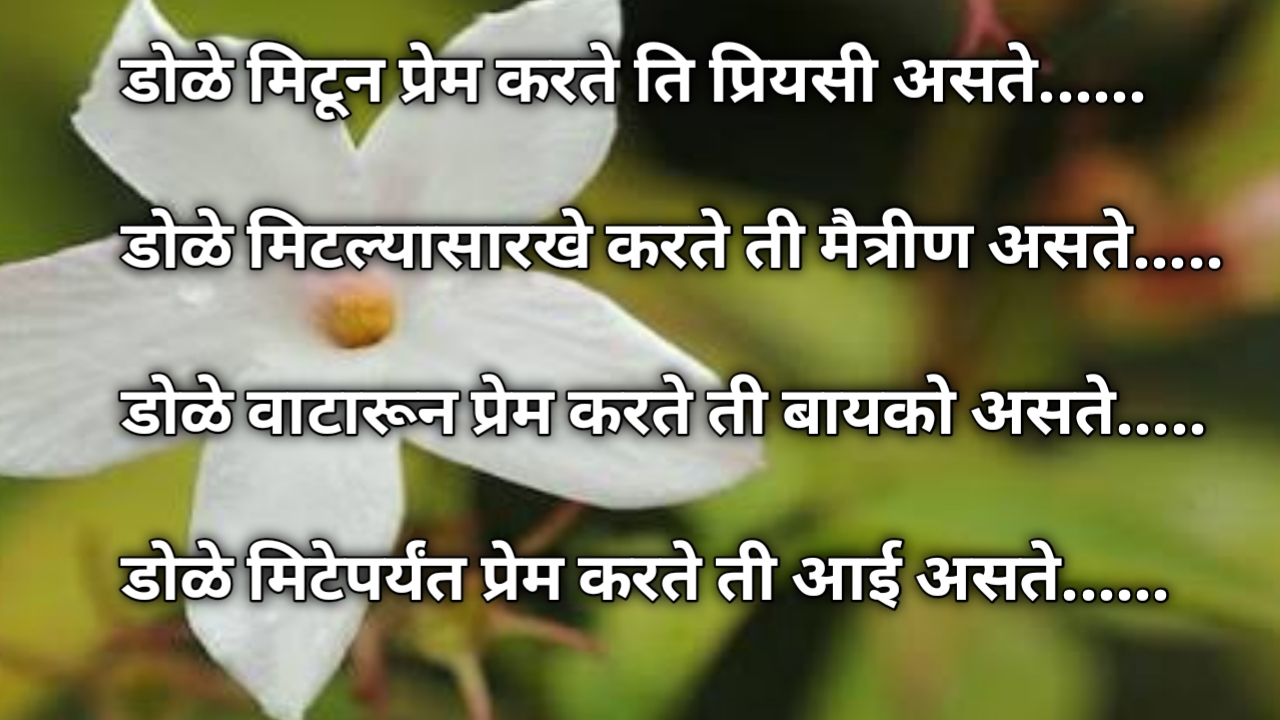 Mother's day quotes in marathi